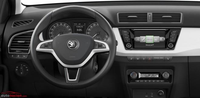 Así es el interior del nuevo Škoda Fabia