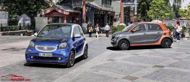 Smart fortwo y Smart forfour: Desde 11.800 euros y 12.500 respectivamente