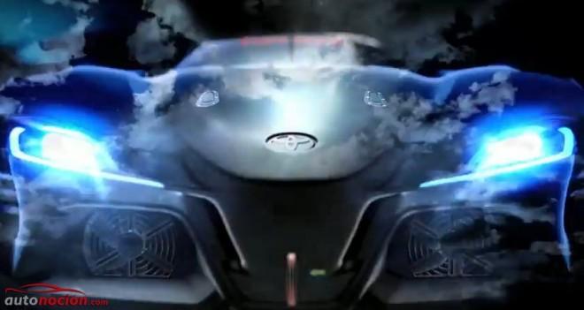 Toyota nos adelanta parte del aspecto del FT-1 Vision GT Concept
