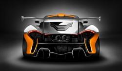 Trasera McLaren P1 GTR