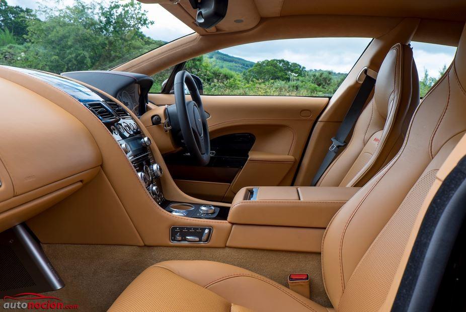 asientos delanteros aston martin rapide s