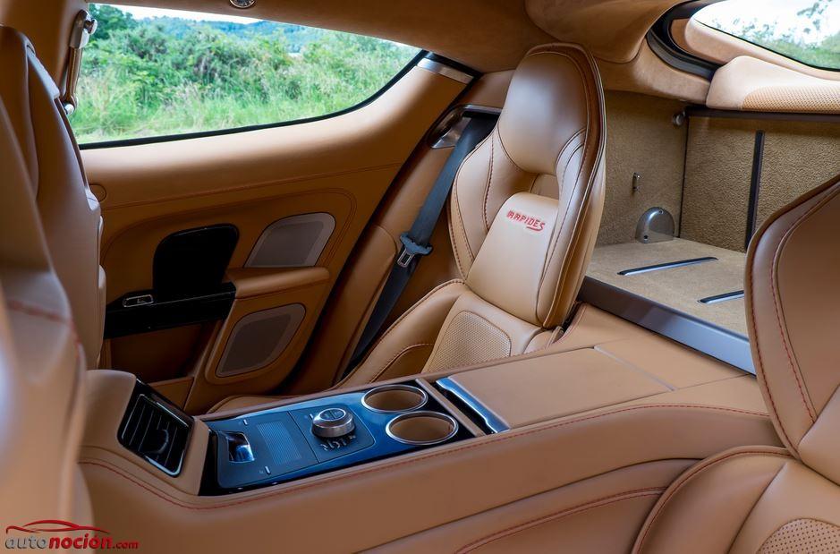 asientos traseros aston martin rapide s