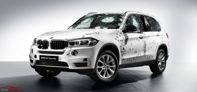 BMW X5 Security Plus: Máxima seguridad de fábrica