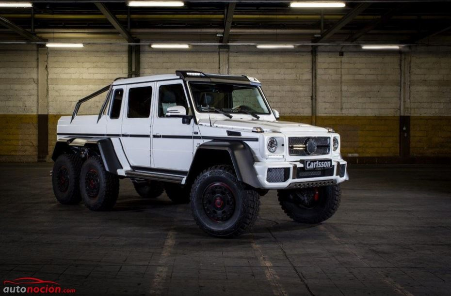 Lo más salvaje de Mercedes reinterpretado por Carlsson: CG63 6×6