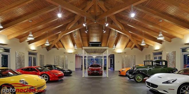[Vídeo] La casa que todo amante del motor querría tener: ¡Esto sí que es un garaje!
