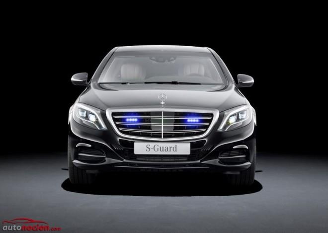 """Mercedes-Benz S600 Guard: Lo más seguro para las zonas """"chungas"""""""