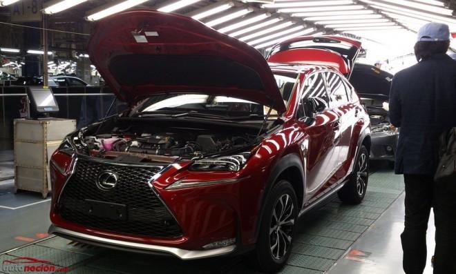 Arranca la producción del Lexus NX: La vuelta al turbo ha llegado…