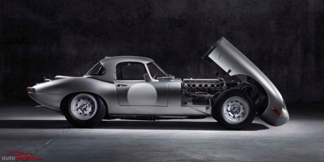 Jaguar E-Type Lightweight: Un GT pura sangre de la vieja escuela construido en 2014