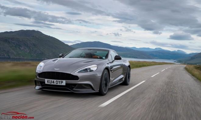 Aston Martin Vanquish y Rapide S MY15: Un 11% más eficientes, más ligeros y con mejor comportamiento