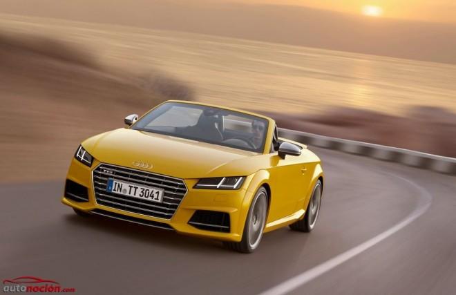Ya está disponible el nuevo Audi TTS Roadster: 310 cv a cielo abierto desde 62.580 euros