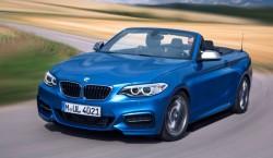 BMW Serie 2 cabrio azul