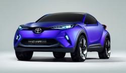 C-HR Concept Toyota Paris