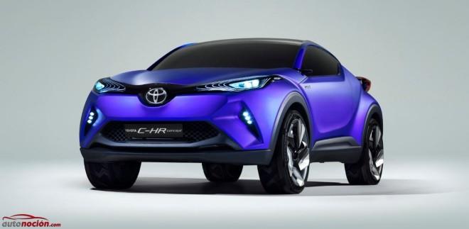 Más detalles e imágenes del Toyota C-HR Concept: ¿El futuro SUV de la marca?