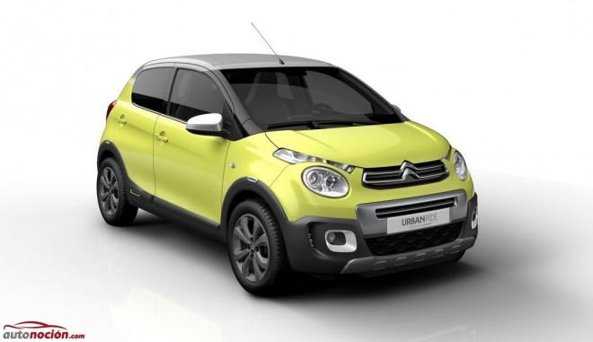 Citroën C1 Urban Ride: La marca nos pregunta si queremos que vea la luz