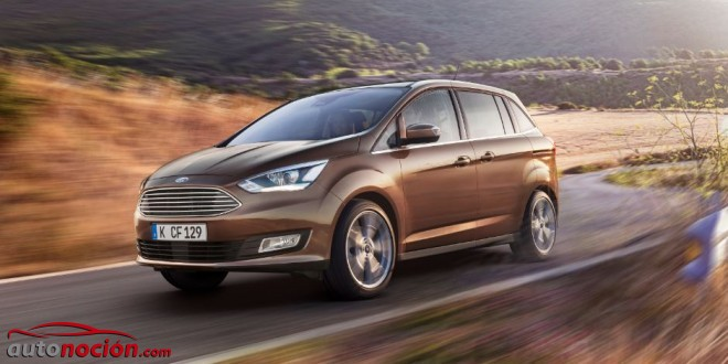 Ford C MAX lateral