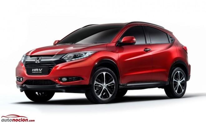 Honda nos muestra las primeras imágenes del HR-V para Europa