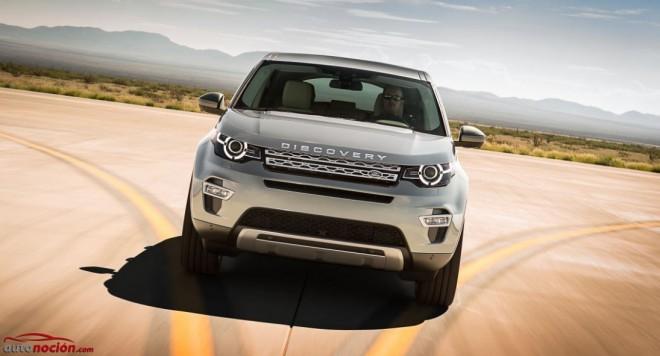 Así es el nuevo Land Rover Discovery Sport