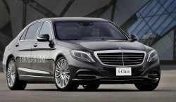 Mercedes Benz Clase S 500 PLUG IN frontal