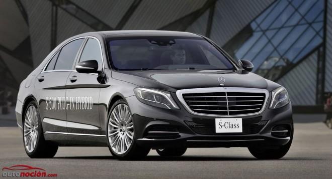 Mercedes-Benz S 500 PLUG-IN HYBRID: 33 km de autonomía eléctrica desde 112.200 euros