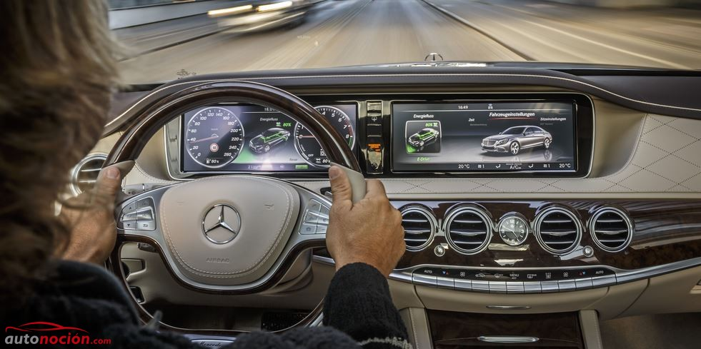 Mercedes Benz Clase S 500 PLUG IN interior