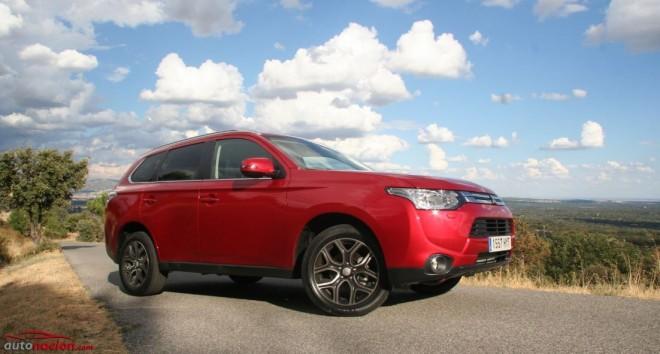 Prueba Mitsubishi Outlander 220 DI-D Motion 2WD: Adaptado a los usuarios de los SUV