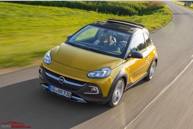 Opel Adam Rocks: Un pequeño aventurero a cielo abierto desde 17.000 euros