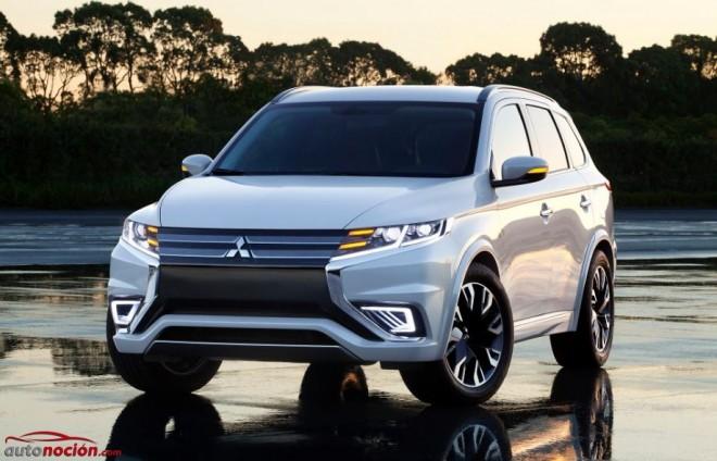 Mitsubishi Outlander PHEV Concept-S: Refinando una opción interesante