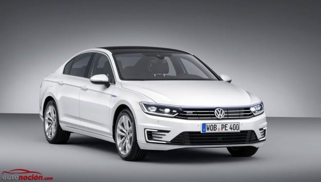 Volkswagen Passat GTE: La variante híbrida enchufable llegará en 2015