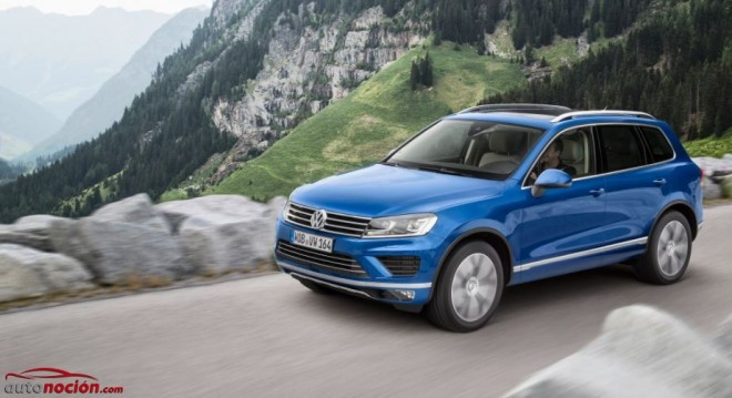 Volkswagen introduce pequeños cambios en el Touareg, disponible a partir de Octubre