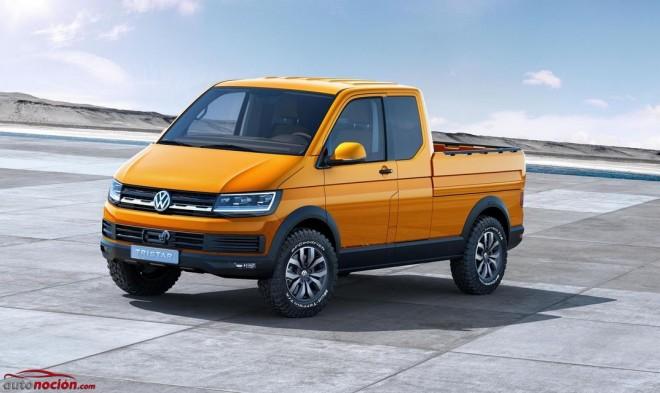 Volkswagen Tristar: Un prototipo pick-up de cabina extendida para recordar viejos tiempos