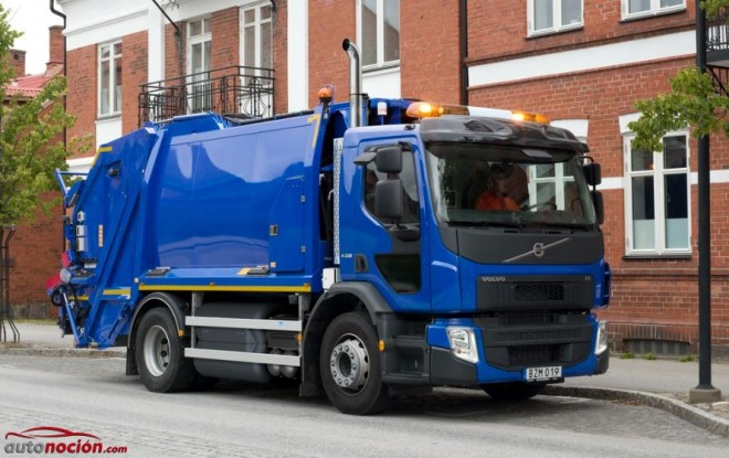 Volvo FE GNC: El primer camión Volvo que funciona de serie con GNC