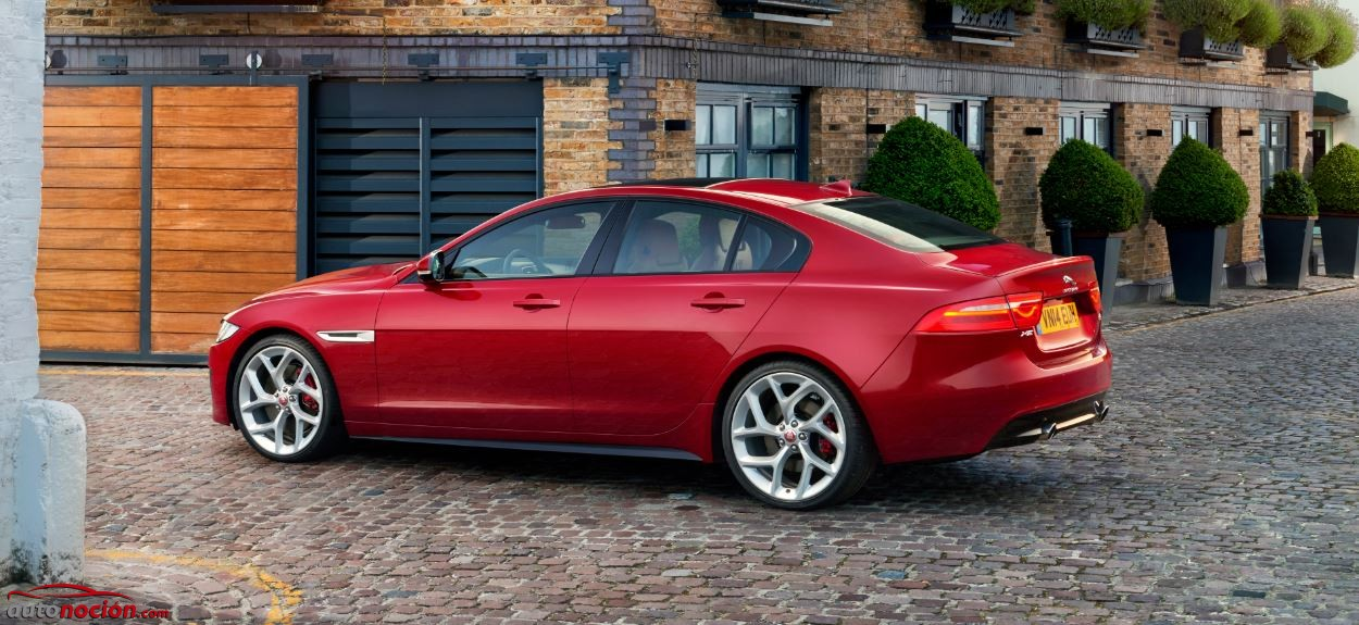 XE jaguar exterior
