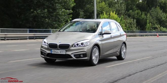 Prueba BMW 218d Active Tourer Luxury: Dinamismo y funcionalidad, ahora con tracción delantera