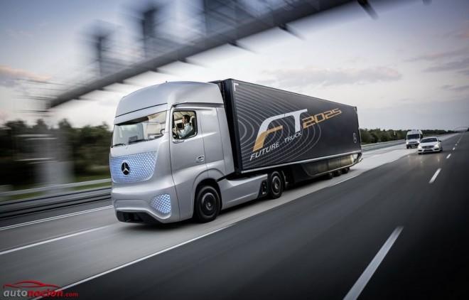 El camión del futuro: Mercedes-Benz Future Truck 2025