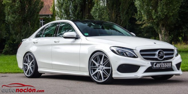Carlsson retoca el aspecto del Mercedes-Benz Clase C AMG Sports Package