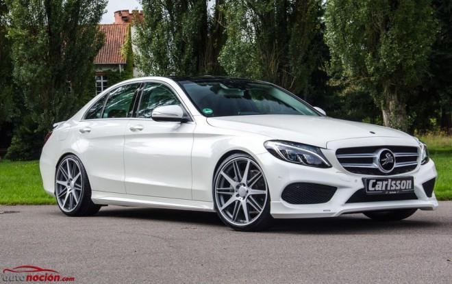 Carlsson retoca el aspecto del Mercedes-Benz Clase C AMG Sports Package