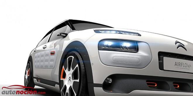 """Citroën concept C4 Cactus Airflow 2L: Aerodinámica, eficiencia y bajo peso """"Made in France"""""""