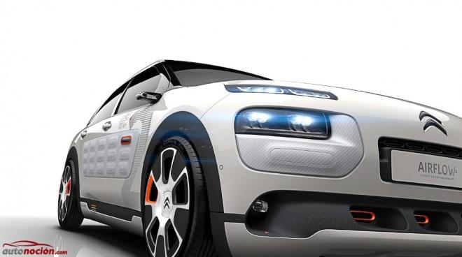 Citroën concept C4 Cactus Airflow 2L: Aerodinámica, eficiencia y bajo peso «Made in France»