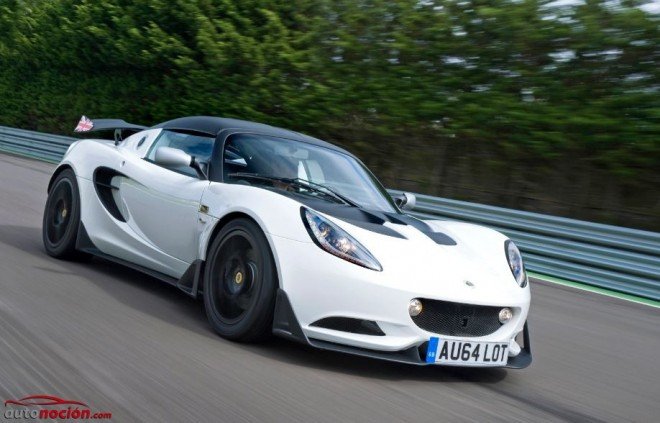 Lotus Elise S Cup: Directamente hermanado con Cup R