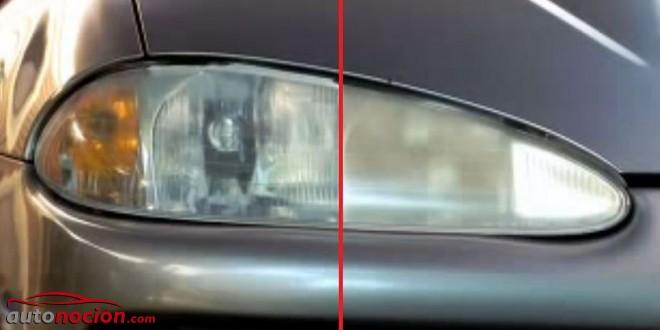 Pulir y limpiar los faros del coche c mo hacerlo en 7 pasos - Como pulir faros de coche ...