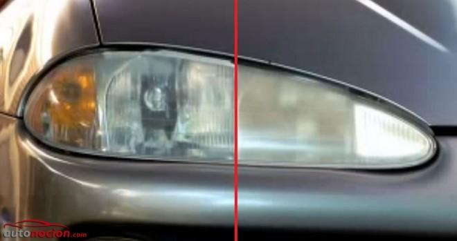 Pulir los faros del coche y eliminar el aspecto quemado y amarillo en 7 pasos