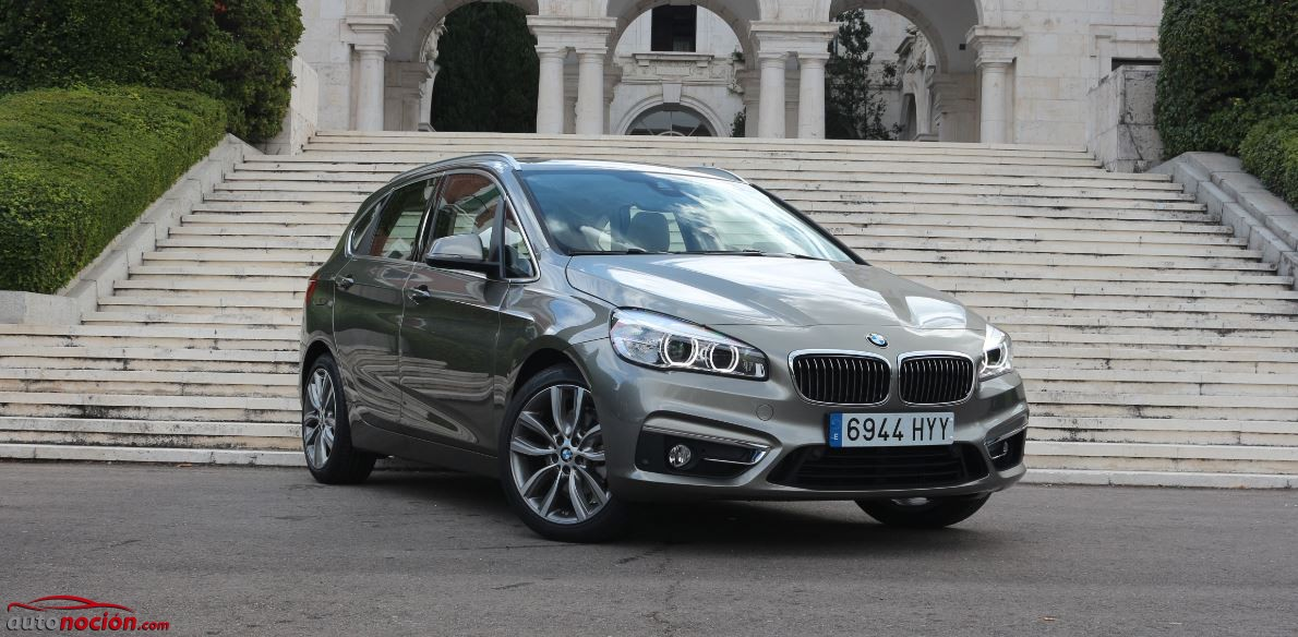 frontal active tourer bmw opinion