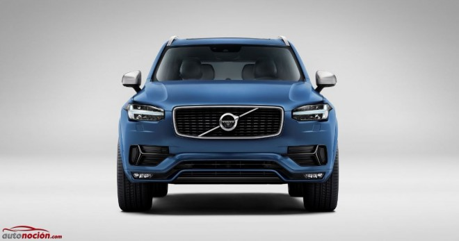 frontal xc90 volvo r design