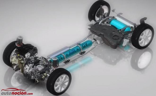 HYbrid Air: Os explicamos brevemente cómo funciona un híbrido gasolina/aire comprimido