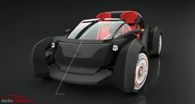 Strati: Así es el primer coche del mundo impreso con una impresora 3D