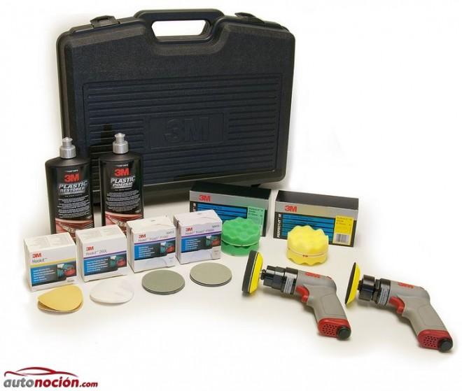 Pulir y limpiar los faros del coche c mo hacerlo en 7 pasos - Kit de pulido de faros ...