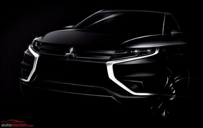 Mitsubishi Outlander PHEV Concept-S: El híbrido enchufable refinado