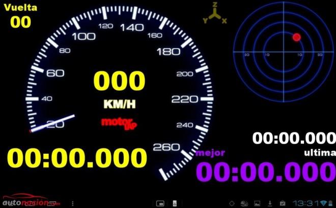 Convierte tu Smartphone en una completa máquina de medición para el circuito con Motorlap