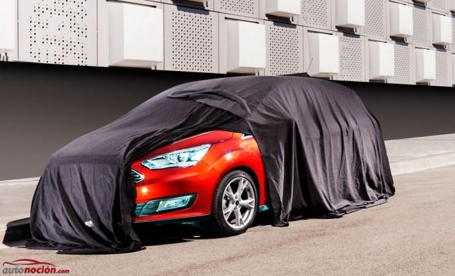 Ford nos ofrece un teaser que revela la nueva cara de la familia C-MAX