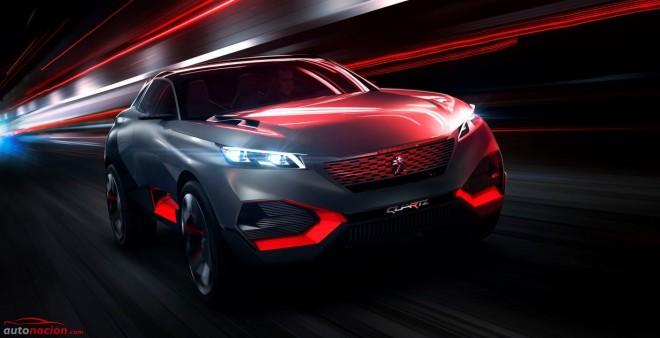 Concept Quartz: El concept de Peugeot para Paris